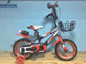 Xe đạp trẻ em 12 inch Conquer Speed Baga - Màu Đỏ