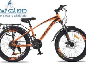 Xe đạp thể thao Fornix FT24 màu đen cam