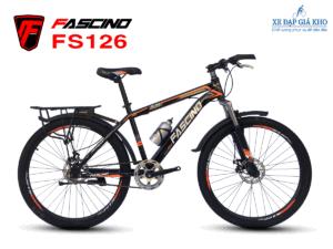 Xe Đạp Thể Thao FASCINO FS126 màu Cam đen
