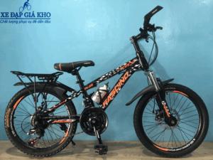 Xe Đạp Trẻ Em 20 Inch FASCINO FS-02 – Màu Đen Cam