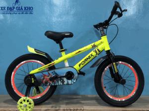 Xe Đạp Trẻ Em 16 Inch Fornix ROBOT- Màu Vàng