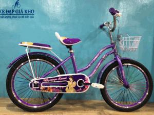 Xe Đạp 20 Inch Nữ Conquer Speed Sườn 2 Ống – Màu Tím