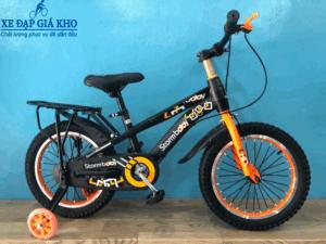 Xe Đạp Trẻ Em 16 Inch Stormbaby – Màu Xanh Cam