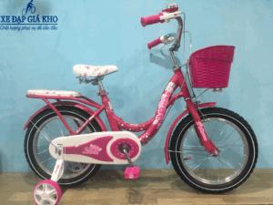 Xe Đạp Trẻ Em 16 inch JIQIMAO JQM-11 – Màu Hồng Đậm