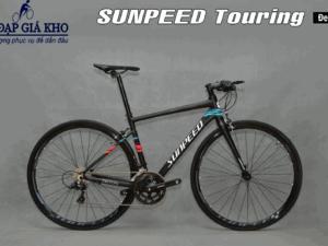 Xe Đạp Đua Sunpeed Touring Triton 2020-Màu Đen